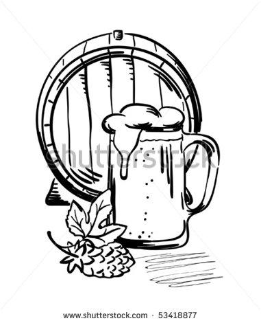 stock-vector-barrel-and-beer-mug-53418877